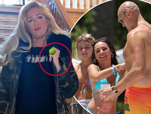 Tyson Fury's pregnant wife Paris removes her wedding ring before covering her finger with an emoji