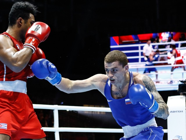 Bakshi delights crowd with shock win at AIBA Men's World Championships