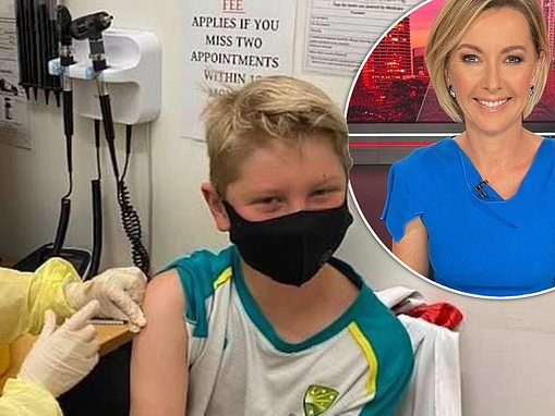 Covid vaccine: Deborah Knight's son, 12, has received his first Pfizer jab