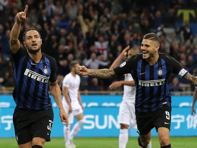 D'Ambrosio elevates Inter Milan to 2-1 win over Fiorentina