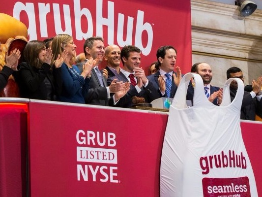 CREDIT SUISSE: GrubHub's recent acquisition may take time to pay off (GRUB)