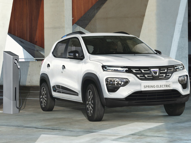 Production Dacia Spring revealed as brand's first EV