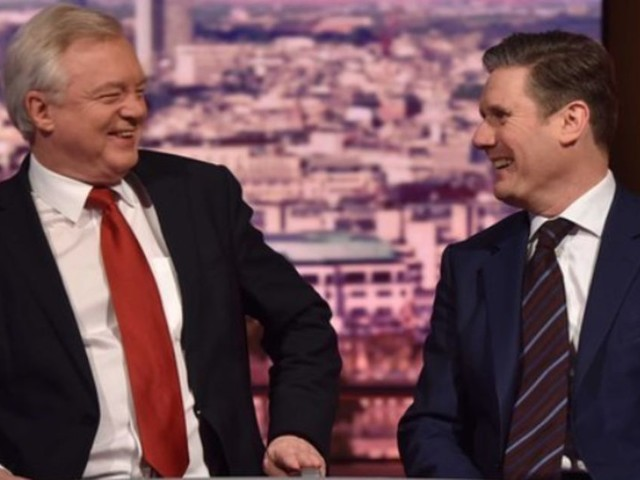 Sunday Shows Round-up: David Davis, Keir Starmer And Trump's Jerusalem Move