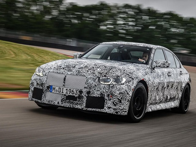 2021 BMW M3 and M4 will debut in September with up to 510 hp, manual transmission available - Roadshow