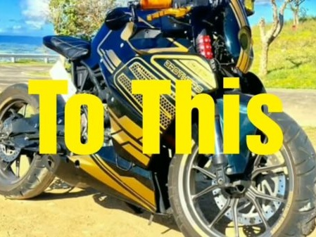 VIDEO: KTM RC200 Gets A Extreme Makeover And They Call It The Predator