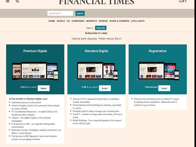 Central bank disputes: Yellen versus Borio - Financial Times