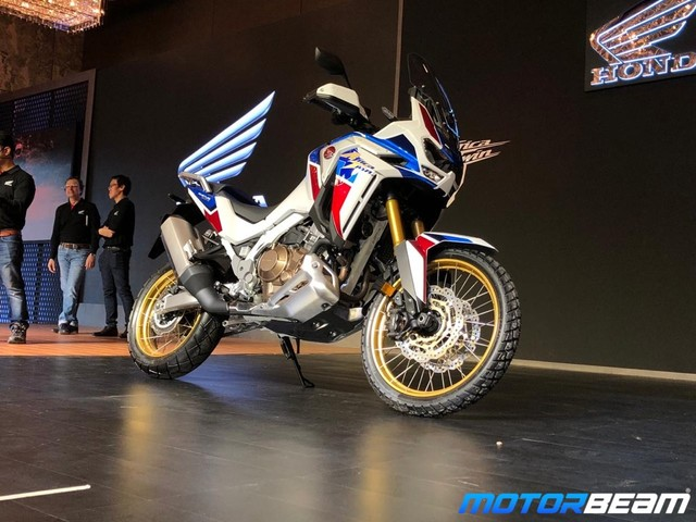 2020 Honda Africa Twin Launched, Priced From Rs. 15.35 Lakhs