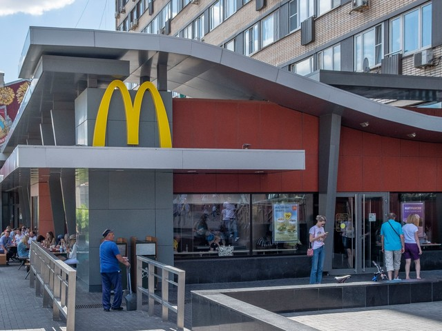 I ordered the same meal at a McDonald's in Moscow and New York City, and the Russian location was a step up from the American one