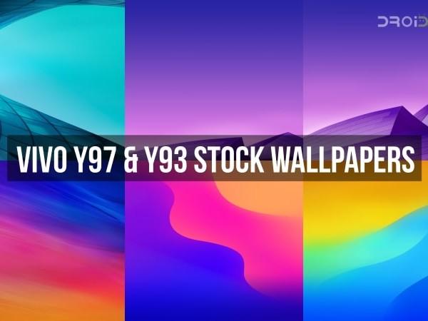 Download Vivo Y93 And Vivo Y97 Stock Wallpapers Full Hd Tech