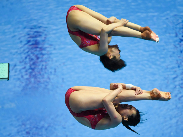 China continue diving dominance with two more golds at World Aquatics Championships