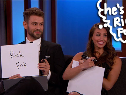 The Bachelor's Nick Viall & Fiancée Vanessa Grimaldi Try To Convince Us They Like Each Other During The Newly Engaged Game!
