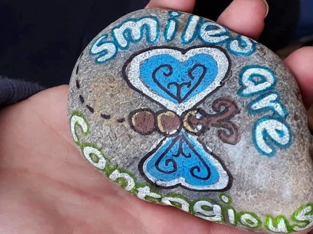Families Are Penning Positive Messages On Rocks And Hiding Them All Over The UK