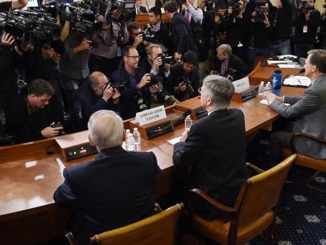 Watch live: Donald Trump impeachment hearings begin