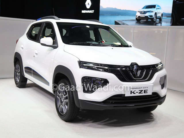Renault City KZ-E (Kwid EV) Breaks Cover At Shanghai Motor Show