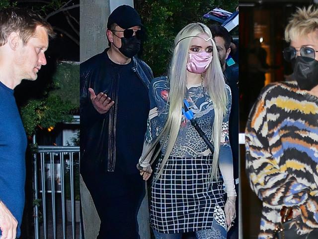 Elon Musk & Grimes Join Alexander Skarsgard, Miley Cyrus & More Stars at 'Saturday Night Live' After-Party!