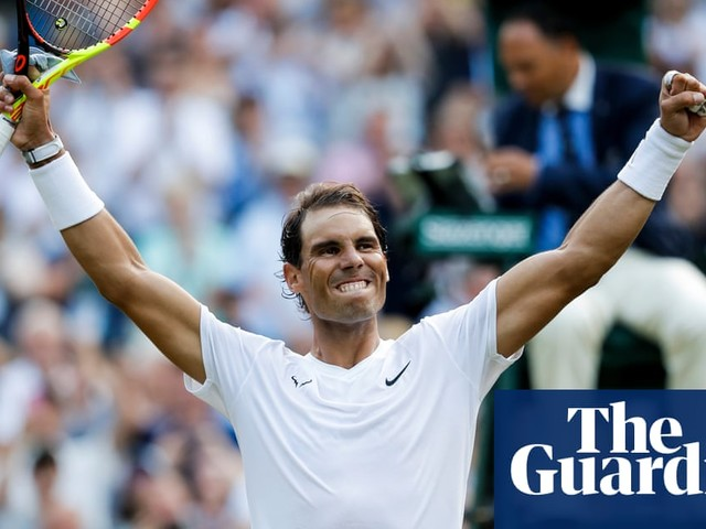 Rafael Nadal 'excited' for long-overdue Wimbledon rematch with Roger Federer