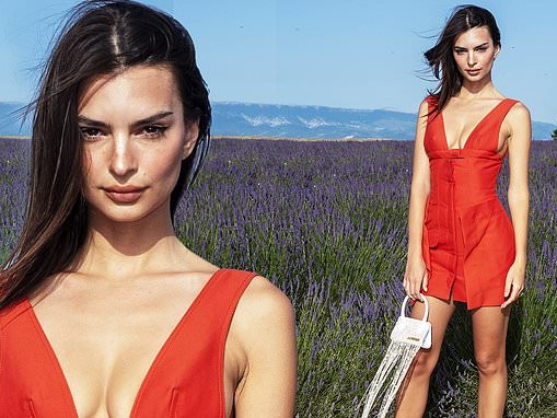 Emily Ratajkowski leads the arrivals at Jacquemus PFW show in Provence