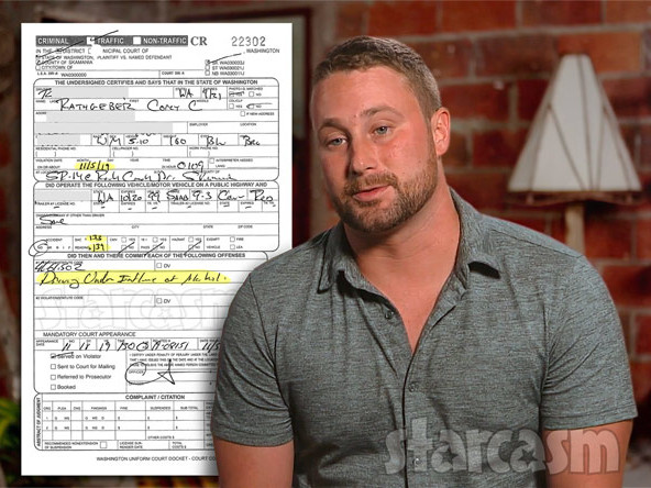 90 DAY FIANCE Corey charged with DUI in Washington in November