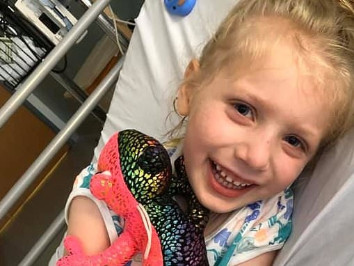 Five-year-old girl who overcame Covid-19 symptoms beats Kawasaki disease