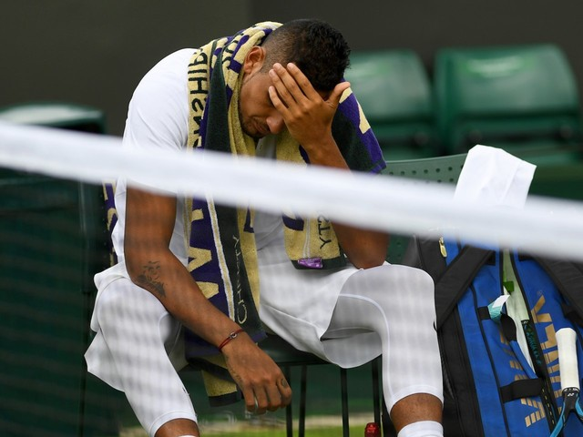 Nick Kyrgios was reportedly drinking in a local Wimbledon pub until 11 p.m. the night before his Rafael Nadal grudge match