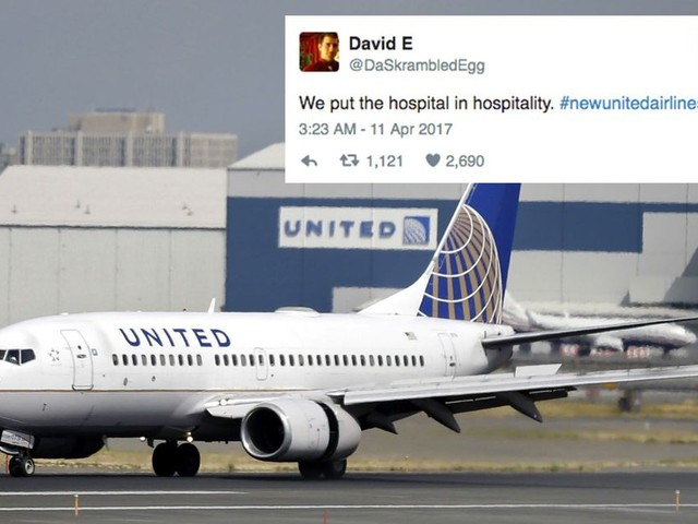 People are trolling United Airlines with these brutal new slogans