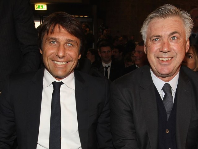Ancelotti implores media to stop with Conte rumors, as Abramovich visits training ground