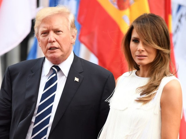 White House sent Melania into Trump-Putin meeting in a failed effort to get Trump to stop talking