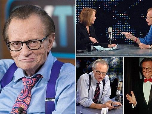 Larry King secretly battles stage 1 lung cancer