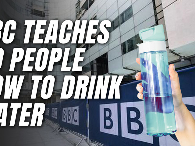 """30 Staff Attend BBC's Lesson in """"How to Drink Water"""" Properly"""