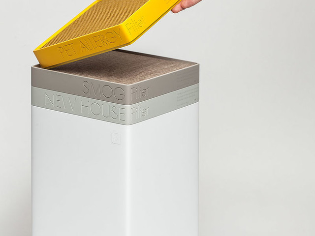 Customizable Air Purifiers - The 'TAC' Air Cleaning System Works Effectively to Purify Air (TrendHunter.com)