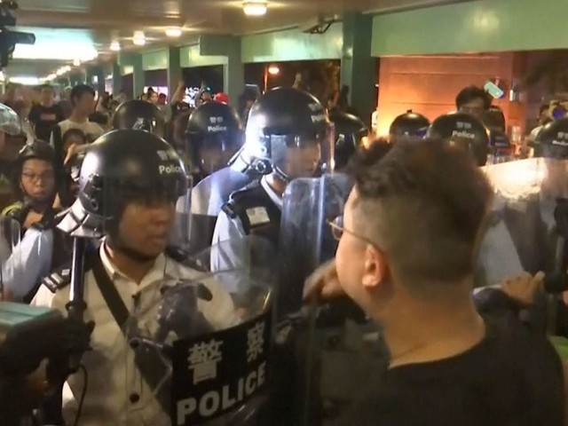 Powerful homemade explosives found ahead of Hong Kong protests