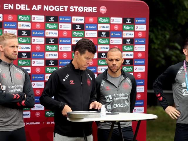 """Denmark stars reflect on """"horrific"""" moment Christian Eriksen fought for his life"""