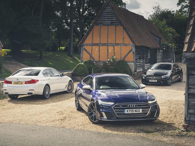 Hot diesel saloon showdown: Audi vs Alpina vs Mercedes