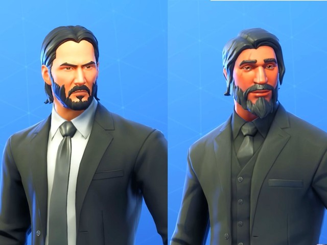 Keanu Reeves called 'Fortnite guy' so much he decided to make official John Wick Skin, Epic Games reveals