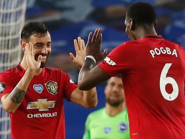 Bruno Fernandes: Talking too much about Paul Pogba partnership 'not fair' on Manchester United team-mates