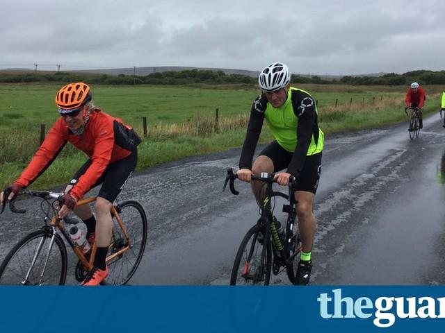 Hardcore cycling in almost guaranteed rain: Scotland's no-frills 'anti-sportive'