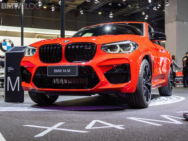 2019 Shanghai Auto Show: BMW X4 M Competition – Live Footage