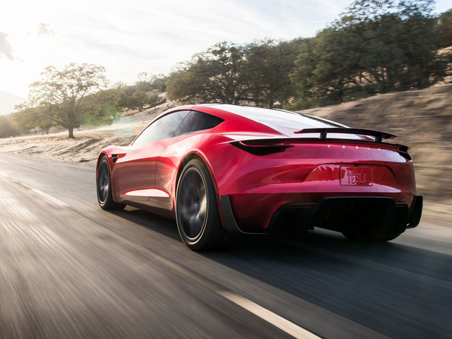 Tesla Roadster revealed as world's quickest accelerating road car
