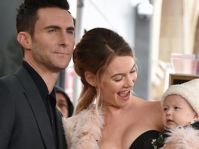Adam Levine and Behati Prinsloo Are Competing Over Their Baby's First Word