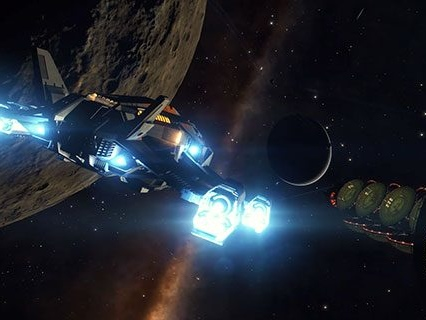 The Elite Dangerous: Beyond – Chapter 1 expansion has a long name and a release date