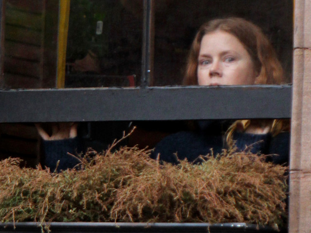Amy Adams Begins Filming 'Woman in the Window' - First Set Photos!