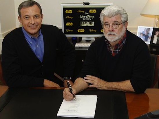 Bob Iger: George Lucas 'Felt Betrayed' When Disney Didn't Use His 'Star Wars' Sequel Plans