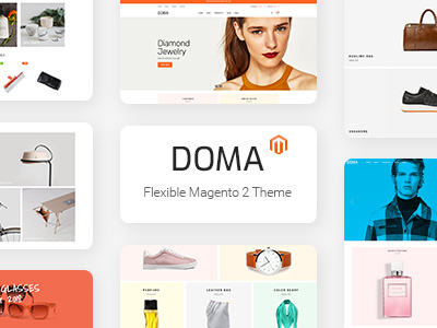 Doma Multipurpose Responsive Magento 2 Theme (Fashion)