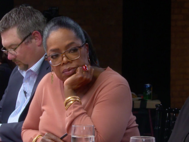Oprah Winfrey's first segment on '60 Minutes' was an intense discussion about Trump