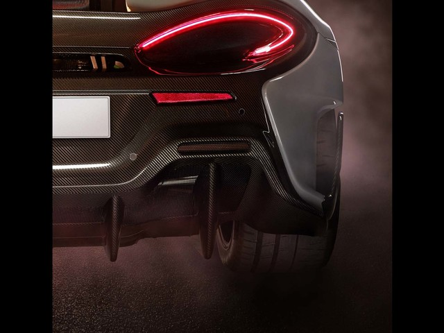 Upcoming 600bhp McLaren 570LT to get top-exit exhausts