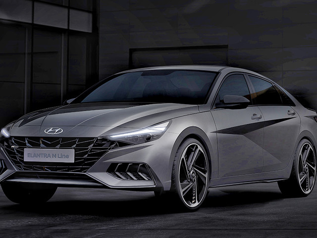 2021 Hyundai Elantra N Line previewed in official renders
