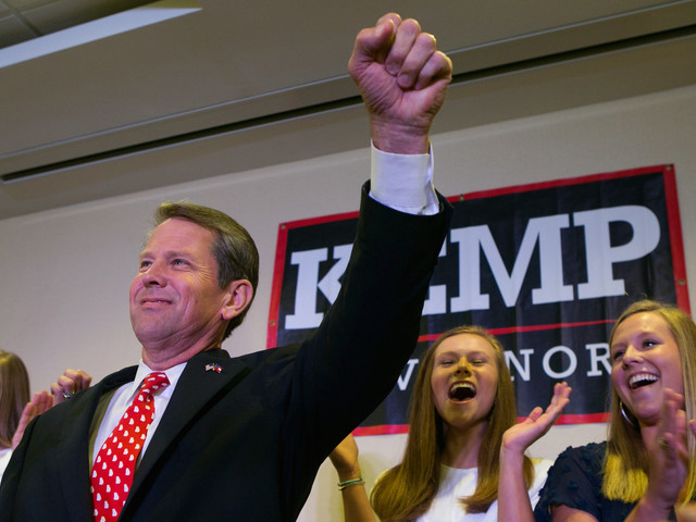 Brian Kemp Is Blocking 53K Applicants From Registering To Vote, Most Of Them Black - Talking Points Memo