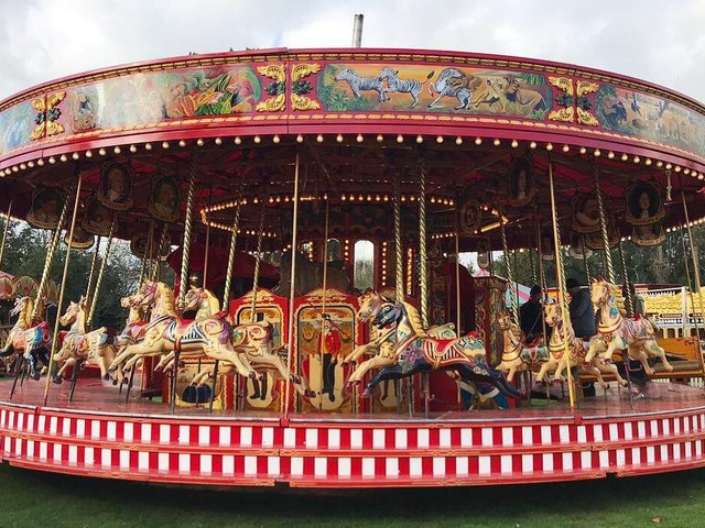 Tickets Alert: Tours of Carters heritage steam funfair