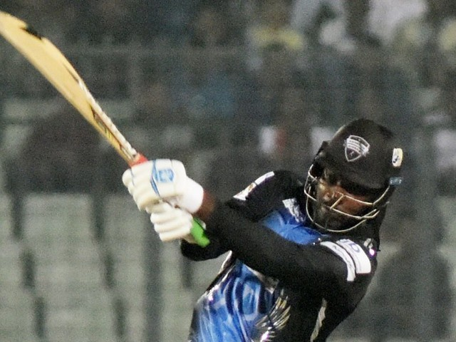 Rangpur bowlers clinch thriller after Gayle's fifty boost