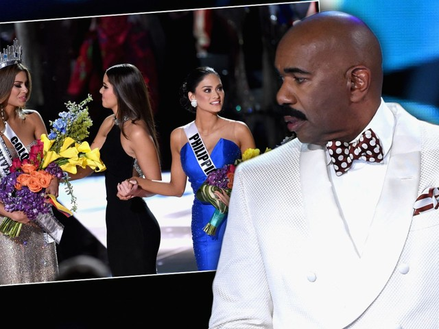 Hell On Set! Steve Harvey Skipping Miss Universe Rehearsals Despite Epic Flub